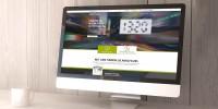 Darstellung der RePower - Plug'n Roll Website auf einem Mac