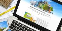 Darstellung der Schumacher Quartier Website auf der verschiedenen Endgeräten