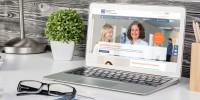 Schreibtisch mit Laptop und VTFAW-Homepage